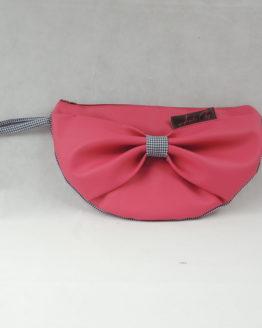 pochette noeud rose